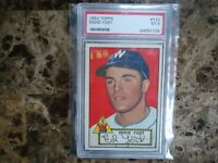 1952 TOPPS EDDIE YOST PSA GRADED 5 EX WASHINGTON SENATORS