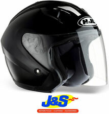 Gloss Motorcycle Plain HJC Vehicle Helmets