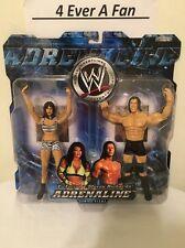 WWE WWF Victoria & Steven Richards 2004 Jakks Adrenaline-Series Eight