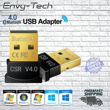 USB Bluetooth V4.0CSR Mini Wireless Dongle Adapter Windows XP,Vista,7,8,10