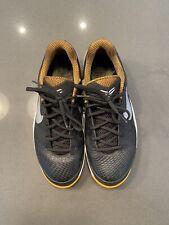 Nike Zoom Kobe Venomenon Lam Sample Size 9M Black/Metallic Silver/ Del Sol