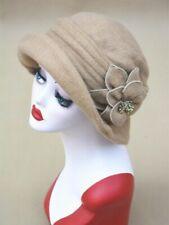 Ivory Cloche Hats for Women