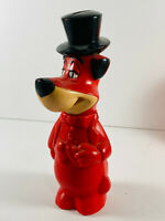 Vintage Knickerbocker Huckleberry Hound Dog Coin Bank Hanna Barbera