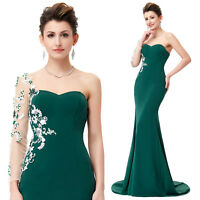 New Designer Bridesmaid Prom Dress Long Ball Gown Formal Evening Party Cocktail