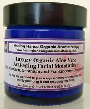 Natural Organic Luxury Face Cream for Combination Skin with Collagen -60ml