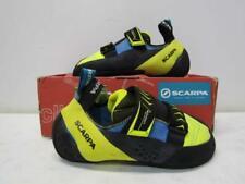 Scarpa Men's Us 8.5/Eu 41.5 Vapor V Climbing Shoe Ocean/Yellow 70040-001