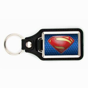 SUPERMAN KEYCHAIN KEY CHAIN RING SUPER MAN DC SUPER HERO