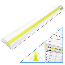 "6"" Magnifying Bar Magnifies up to 3X with Yellow Guide Line Ideal for Reading"