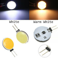 Dimmable G4 COB 7W 30 LED 12V AC/DC Bulb Light Lamp Smart IC  Cool/Warm White