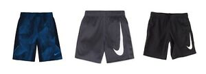 New Nike Little Boys Dry Swoosh Performance Shorts Choose Size and Color