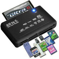 USB2.0 Multi Card Reader for SD SDHC Mini Micro M2 MMC XD CF Micro SD All In One