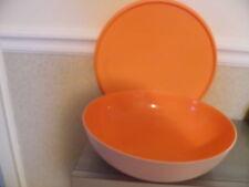 TUPPERWARE Allegra 3,5 L  Schale Schüssel  orange-weiß  Neu  RAR !!!