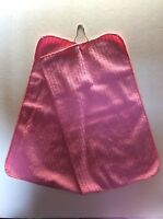 Pink Ladies Golf Towel w/Hook 32 x 18 Folded to 16 x9 Brand New Free Shipping