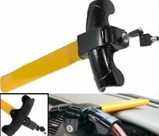 ANTI-THEFT CAR/VAN SECURITY ROTARY STEERING WHEEL LOCK-HIGH VISIBILITY NEW