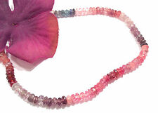 "rare knotted beaded spinel gemstone bracelet 14k gold 3 to 4mm 7"" india b23"