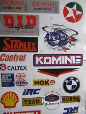 Vintage Racing  Decals / Stickers Rothmans Team Honda-Carstol-Komine-Beattie NOS