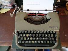 More details for typewriter byron 1950's made in nottingham england working order, original case