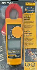 Fluke 324 Plus-LW True RMS AC DC Clamp Meter Digital 600-Volt Clamp Meter NEW