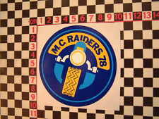 MC Raiders 1978 ADESIVO PER CHOPPER CUSTOM Featherbed HARDTAIL Harley Davidson