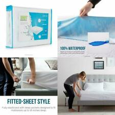 Cooling Queen Size Mattress Pad Protector Comfort Relax Waterproof Bed Cover New