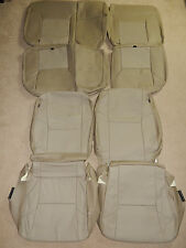 2009-2011 Toyota Tacoma DBL CAB BASE/ SR5 PRERUNNER Factory leather seat covers
