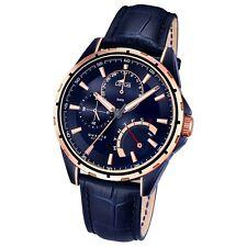 Reloj Lotus De Hombre Smart Casual Multi Función cuarzo Piel Azul ul18210/1