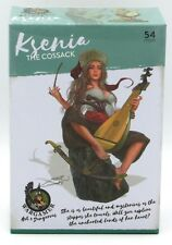 Wargamer HD-28-17 Ksenia the Cossack (28mm) Hot & Dangerous Female Musician NIB