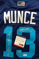 MAX MUNCY SIGNED DODGERS Nickname Jersey That Funky MUNCY Autograph PSA/DNA COA