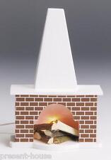 Edler Kamin Klinker  Puppenhausmöbel Dekoration Wohnzimmer Miniaturen