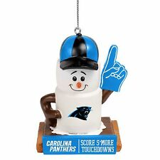 Carolina Panthers Smores Christmas Tree Holiday Ornament Score Smore Touchdowns