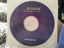Time Almanac Of The 20th Century DVD CD-ROM