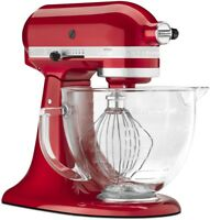 KitchenAid 5Qt Artisan Design Series Mixer- Candy Apple Red