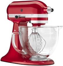 KitchenAid 5-Quart Artisan Design Series Tilt-Head Stand Mixer | Candy Apple Red