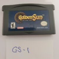 Golden Sun GameBoy Advance Authentic (2001) GBA Nintendo RPG - Cart ONLY