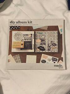 Typo DIY Photo Album Kit Brand New