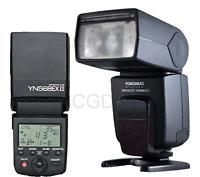 YONGNUO YN-568EX II YN-568 TTL Flash Speedlite High Speed Sync for Canon Camera