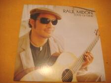 Cardsleeve Single CD RAUL MIDON State Of Mind PROMO 1TR 2005 latin jazz