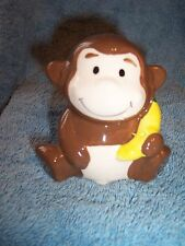 New Kids Ceramic Monkey Bathroom Sink Toothbrush Holder Stand Cute/Funny/Silly