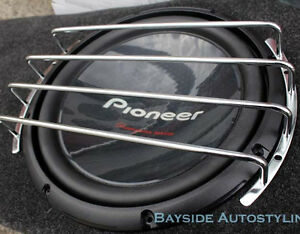 """15inch Chrome subwoofer grille - 15"""" Sub Woofer Grill Cover"""