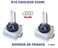 2 AMPOULES XENON D1S AUDI A4 Q7 RS4 R8 35W 4300K NEUF