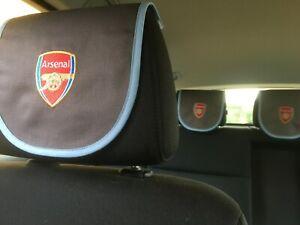 Arsenal Football club limited edition aircraft headrest cover car birthday gift