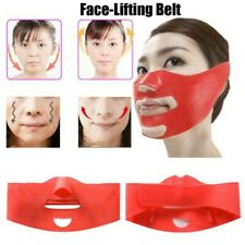Silicone Thin Face Mask 3D V-line Lift Face Bandage Belt Slimming Facial Double