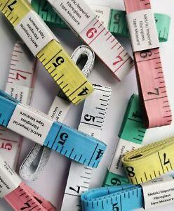Soft Body Measuring Tape Tailor Dressmaker Sewing Tape Measure 150cm Fibreglass