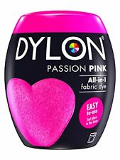 Dylon Machine Dye Pod, Passion Pink, easy-to-use fabric colour for laundry, 350g