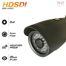 "HD SDI 2.0MP 1/2.9"" Sony CMOS 1080P CCTV Security Camera 4mm Fixed Lens"