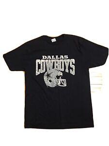 Champion X Dallas Cowboys Vintage T-shirt Size Kids XL (18-20) Classic Navy Blue