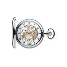 Designer - Jean Pierre of Switzerland -  Mechanical Skeleton Pocket Watch G303CM