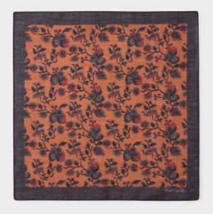 Paul Smith Pocket Square Handkerchief- BNWT Logan Floral UK Seller RRP: £50