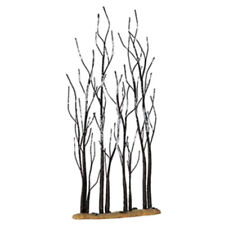 """Lemax 14614 11"""" STAND OF SYCAMORE TREES Christmas Village Landscape Scenery O I"""