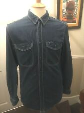 Adidas Originals denim shirt small/medium